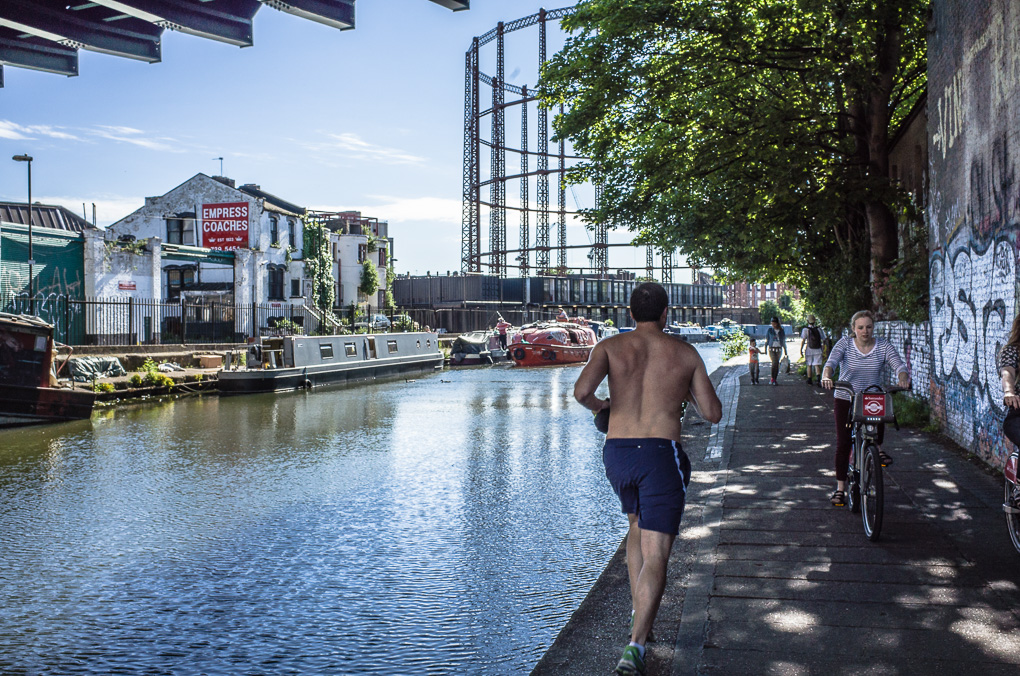 Hackney Grand Union Canal